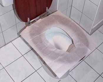 Toilettenbrillenabdeckung