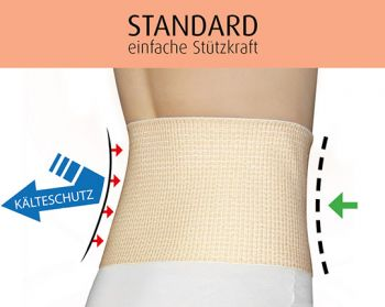 Nierenwärmer mit Stützfunktion   STANDARD