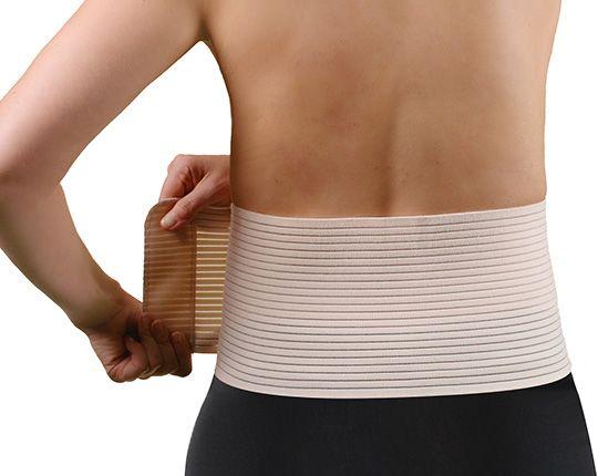 Bauch- und Rückenstützgürtel