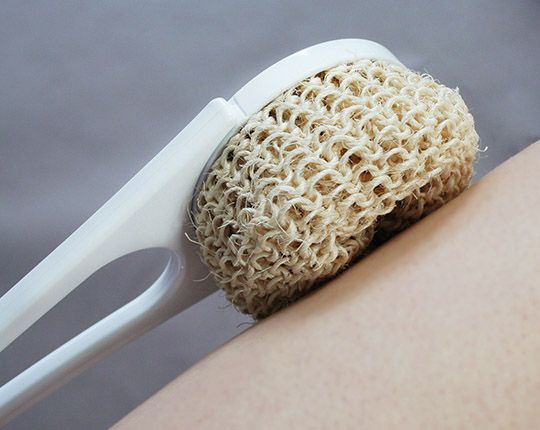Sisalaufsatz für Rückencremer