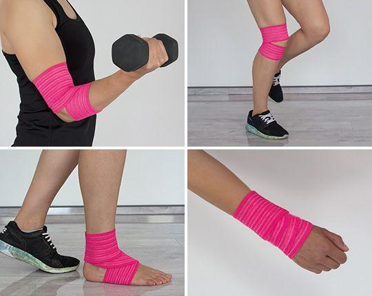 Body Max Universalbandage, pink