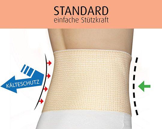 Nierenwärmer mit Stützfunktion | STANDARD