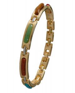 Magnet Armband mit Schmucksteinen