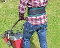 Rückenstützgürtel, mit extra Zugbändern