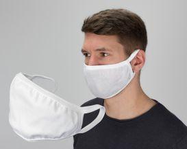 Mund- und Nasenmaske (2 Stück) Baumwolle