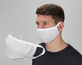 Mund- und Nasenmaske (2 Stück) wasserabweisende Folie