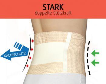 Nierenwärmer mit Stützfunktion   STARK