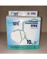 FFP2 Masken, zertifiziert, 10er Pack, Einzeln verpackt
