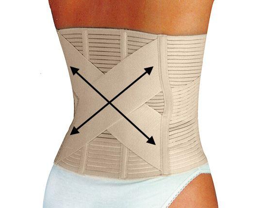 Orthopädischer Bauch- und Rückenstützgürtel
