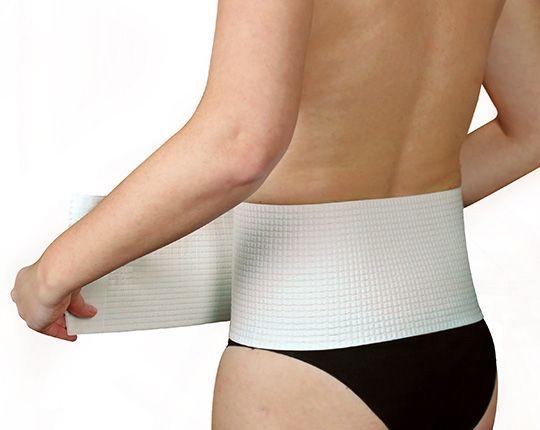 Bauch- und Rückenstützgürtel   mit OUTLAST®