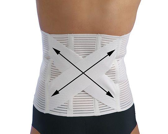 Orthopädischer Bauch- und Rückenstützgürtel   mit OUTLAST®