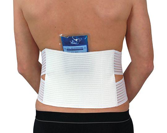 Kontur Rückenstützgürtel zur Kalt-/Heiß-Therapie