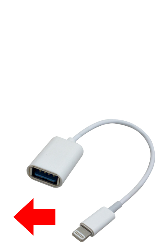 Hydas iPhone USB-Adapter